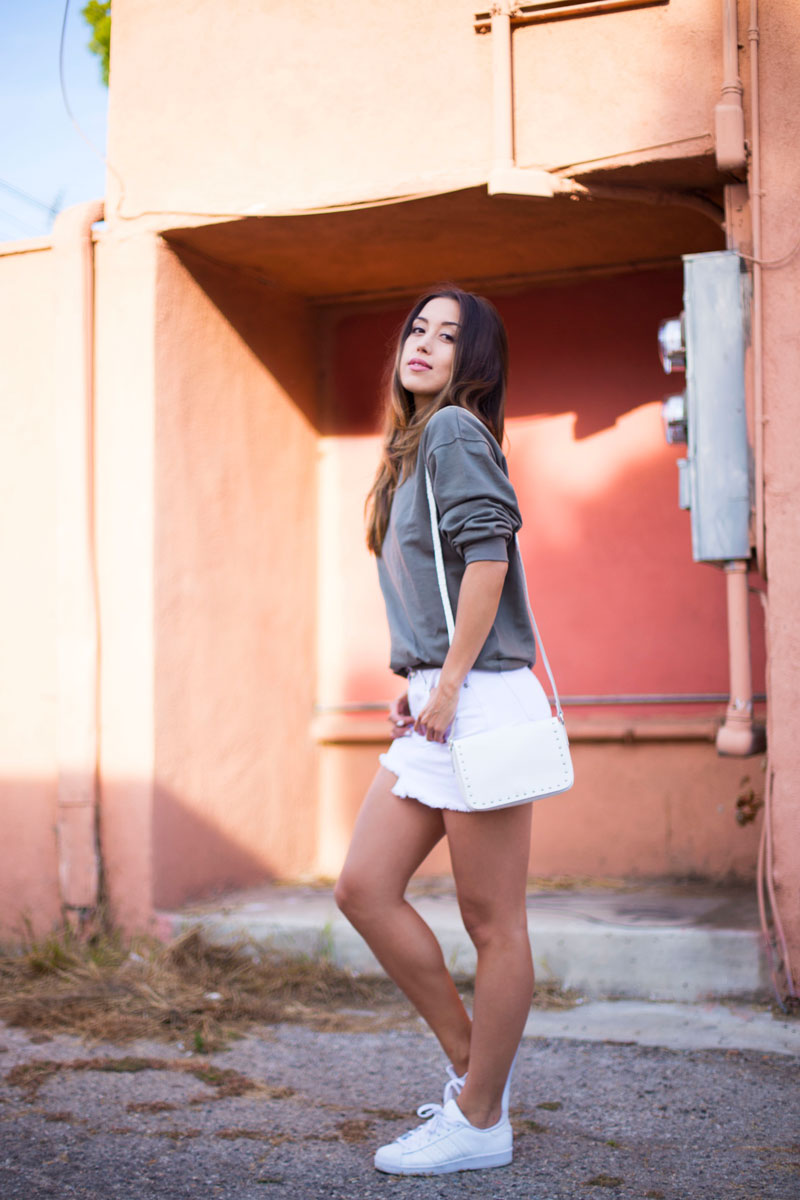 Love Or Money | White Denim Skirt | Summer Outfit 1