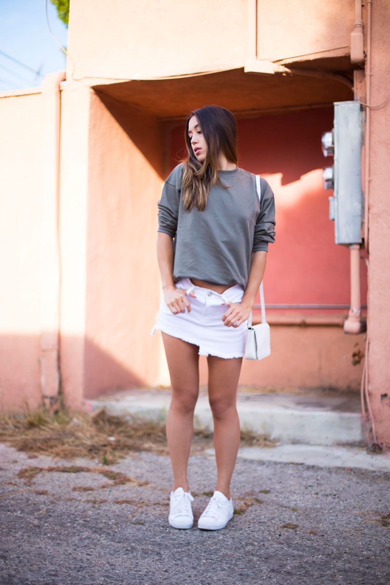 Love Or Money | White Denim Skirt | Summer Outfit 2