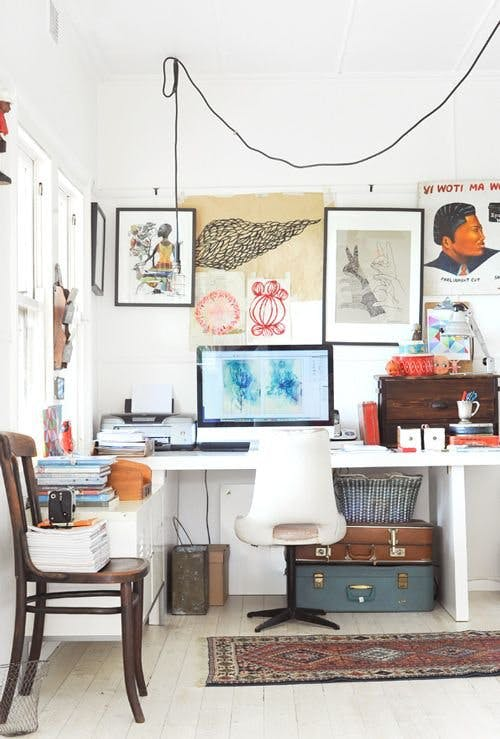 LOVE OR MONEY by Emily Tong | 10 Dream Home Office Spaces