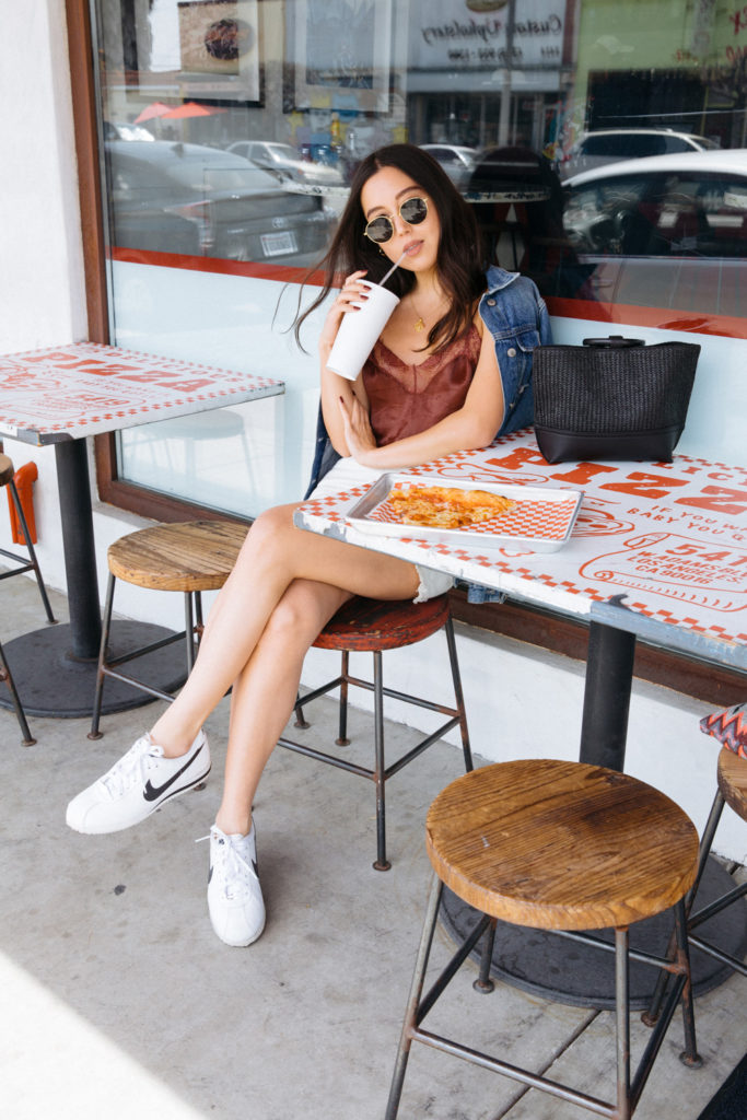 release date: 9b167 8498f LOVE OR MONEY by Emily Tong wearing free people cami top ...